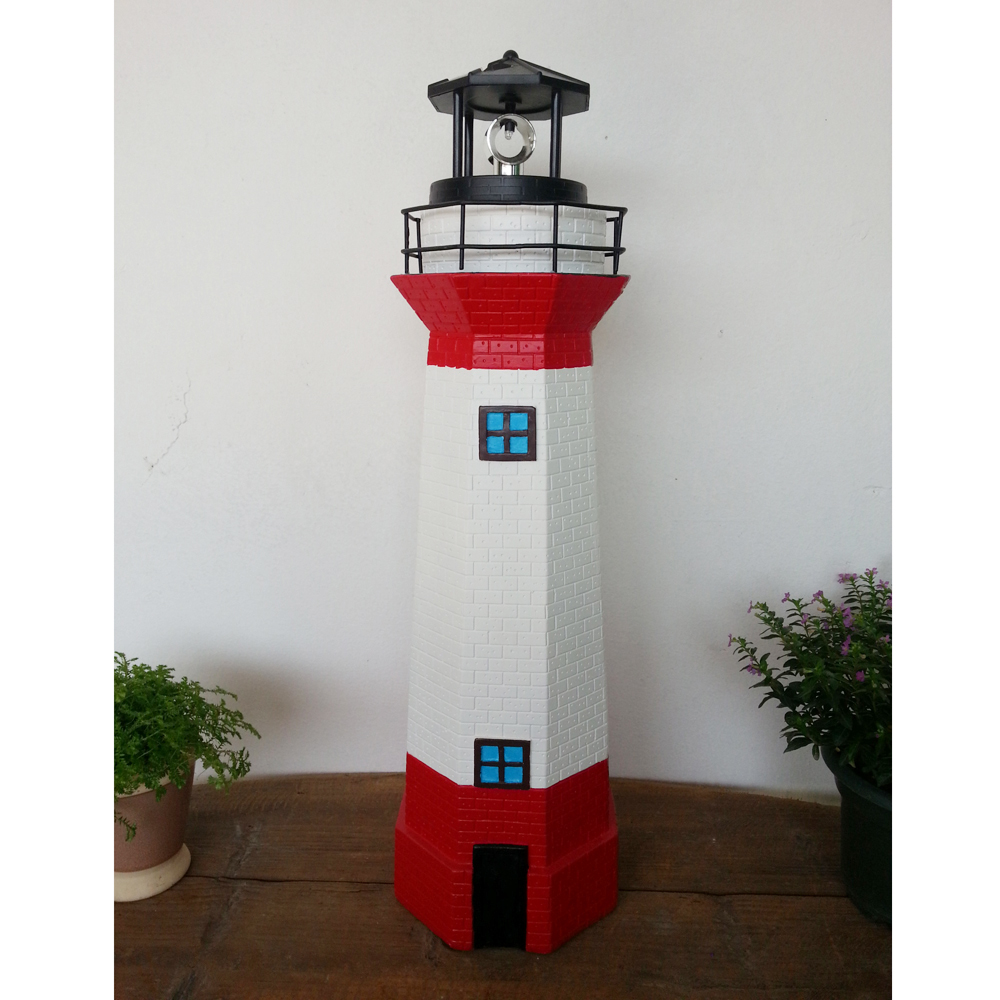 Polyresin Inflatable Lighthouse Decor