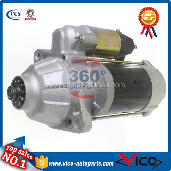 Truck Starter For Mitsubishi 6D10,6D15 6.9L Engines,ME077408,ME250AB,M000A0291