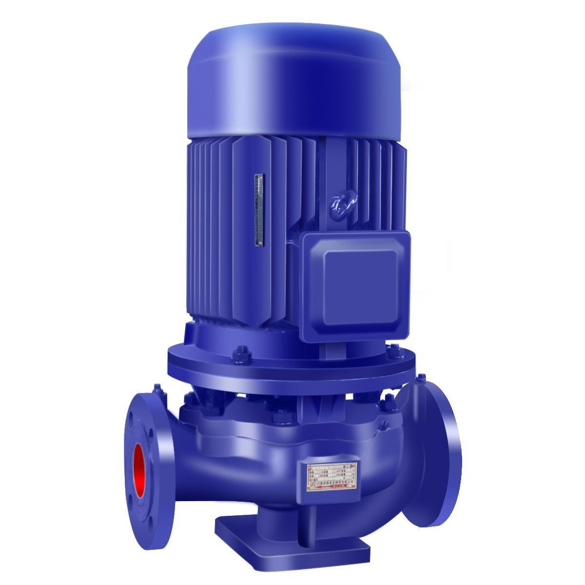 Hengbiao ISG series electric motor single stage single suction centrifugal vertical water pump