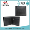 Carbon fiber leather RFID blocking wallet for men RFID blocking carbon fiber leather wallet