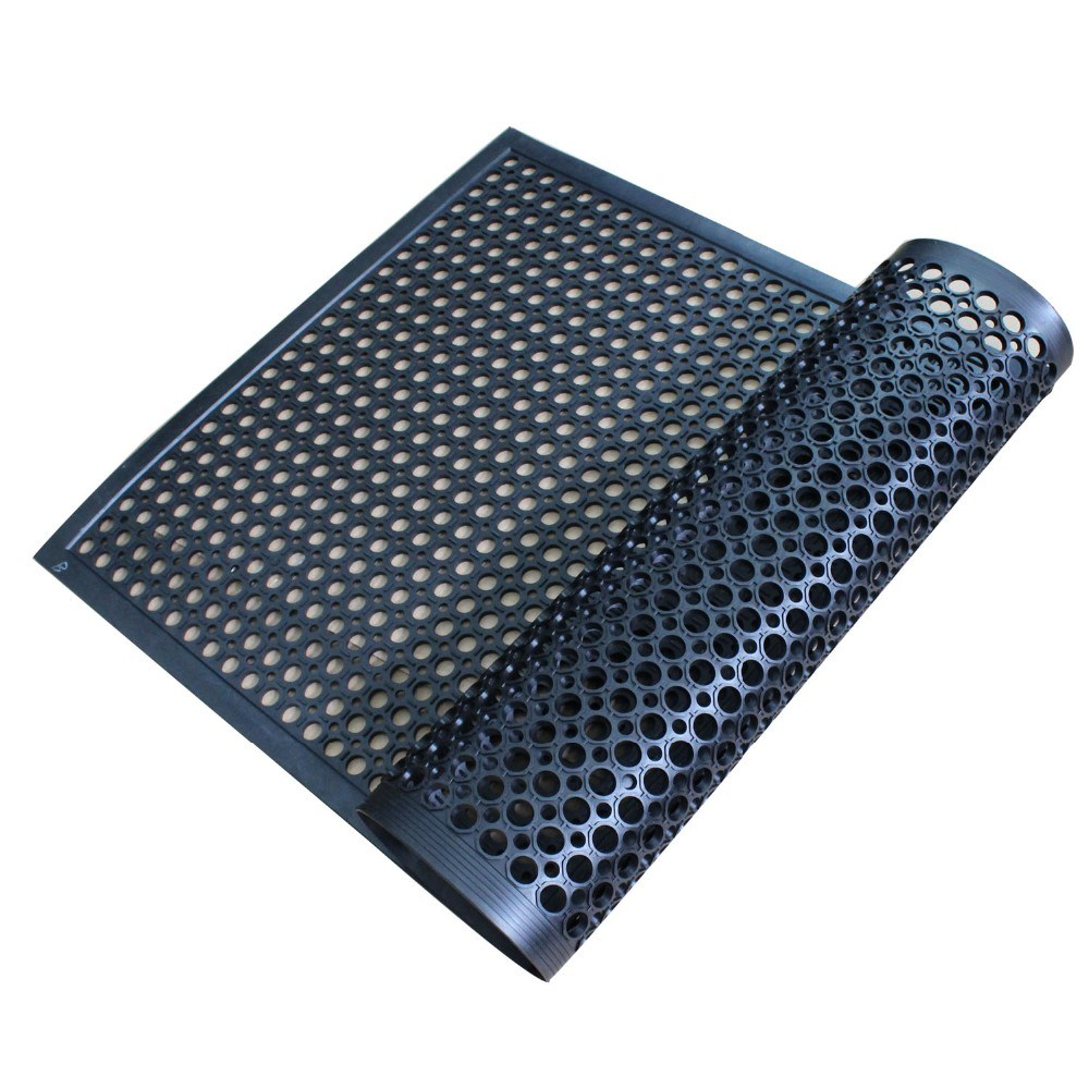 Oil Resistant Anti Slip Rubber Mat Anti Bacterial