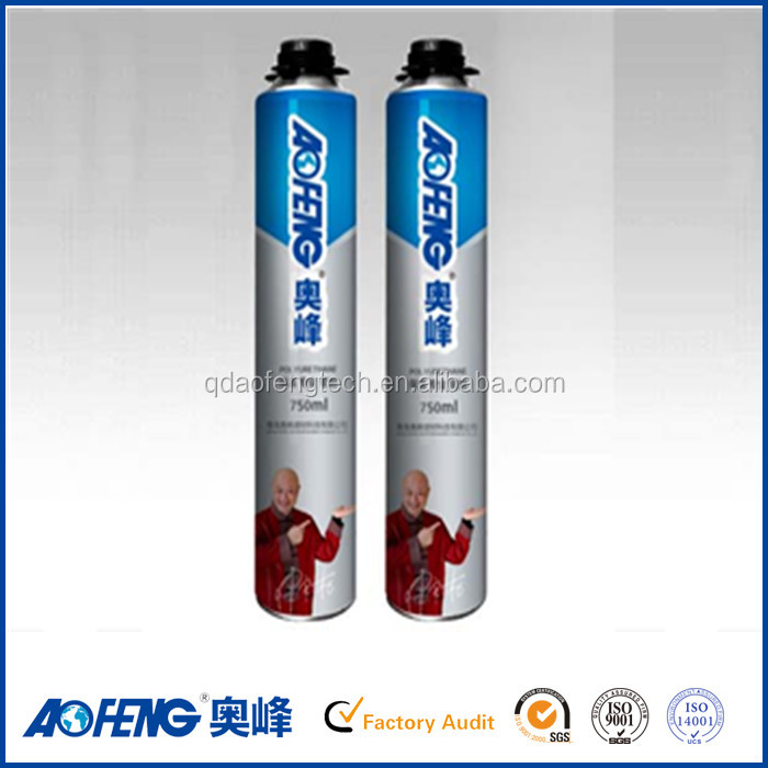 high expanded bubble pu foam sealant 80% expanded