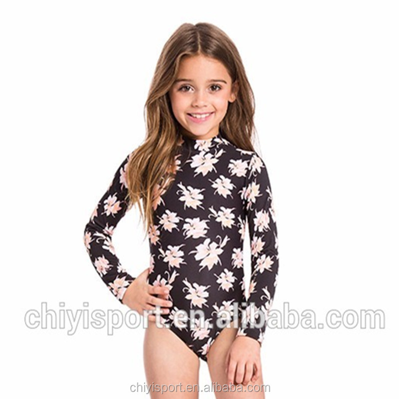 Wholesale Facroty Price High Quality Hot Sales Long Sleeve Fashion Kids Custom Rashguard