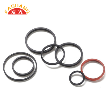 Fluorocarbon Silicone Rubber Flat Washers / Rubber O Rings / Rubber ...