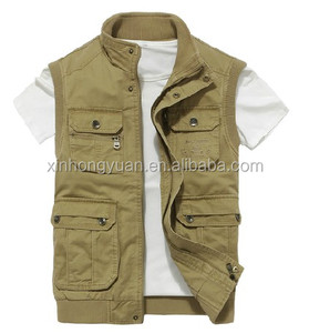 good quality durable custom work vest for men