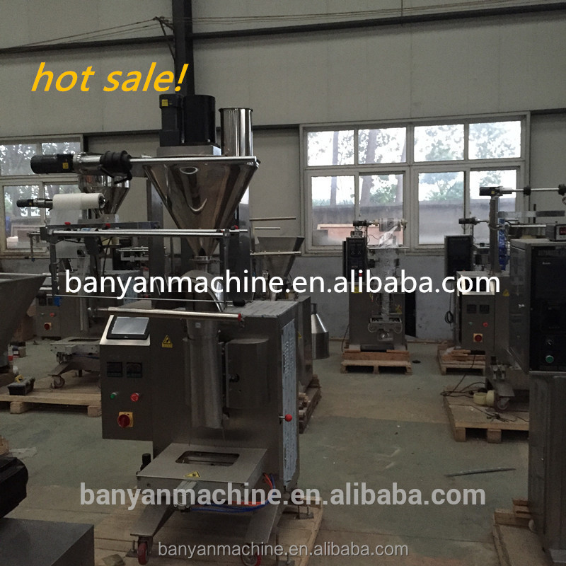 auger filler measuring powder sachet filling machine made in China//0086-13761232185