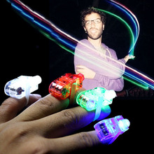 wholesale party favors white singapore finger ring light laser blinking led finger lights