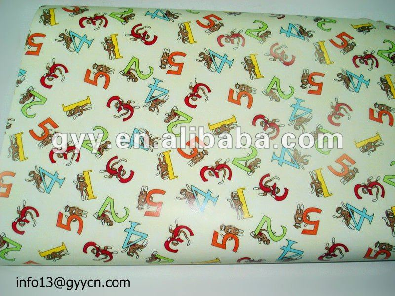 4C printed gift wrapping paper for chirstmas