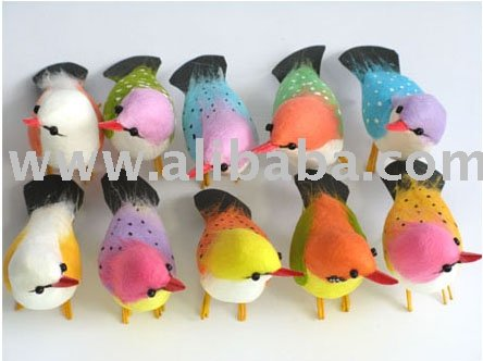"Artificial Bird 2. 7""-Artificial Craft-Artificial Decorations-Artificial Gifts-Gifts"