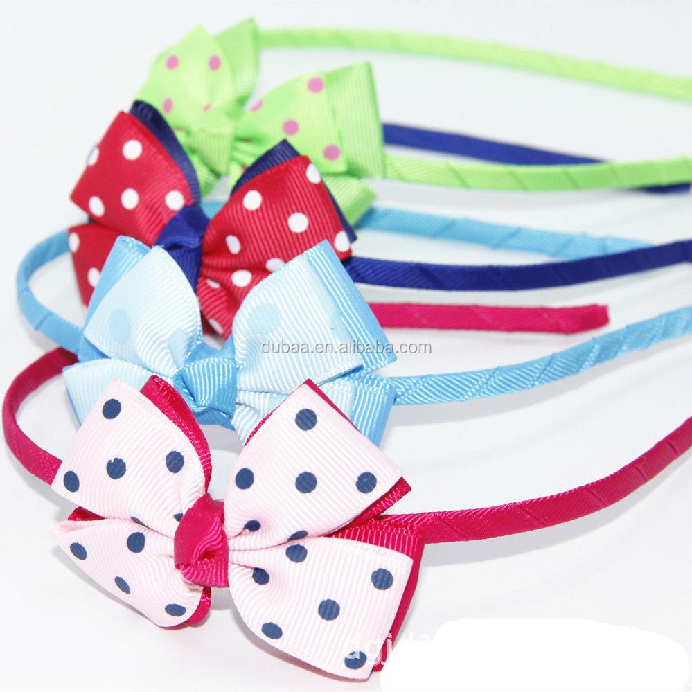 Children s Bow Hairband For Teen Girls 8102e31cb20