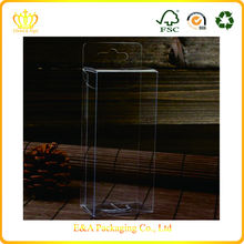 Personalised foldable cheap shipping charge clear pvc boxes for packing gifts