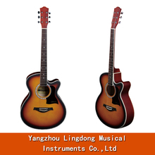 Atacado custom made high end guitarras acústicas <span class=keywords><strong>talento</strong></span> na china