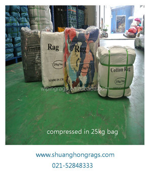 Dark color bulk t shirt wiping cloth rags supplier buy for T shirt rags bulk