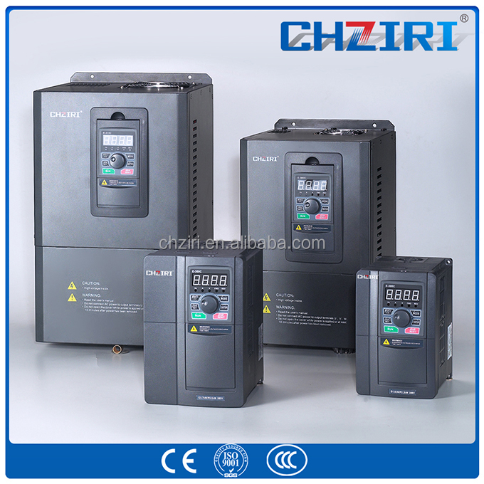 VFD Inverter 15kw 20HP 3 PHASE 220V 400HZ Frequency converter for spinning machine