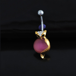 Factory wholesale stock piercing jewelry belly button ring