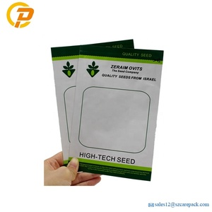 Wholesale Moistureproof Aluminium Foil Seed Packaging Bag