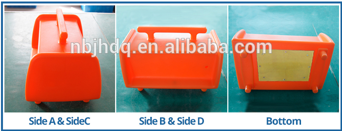 made in China portable style black small plastic case PE box, china alibaba high quality waterproof plastic electrical box