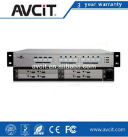 Enclosure HD0404 SET 4x4 Full Seamless Multi-format Matrix Switchers 2 Channel 3G/HD/SD SDI Signal Input Card