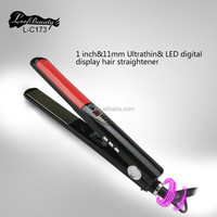 Professional hair salon equipment manufacturer provide private label hair straightener can OEM hair straightener colors