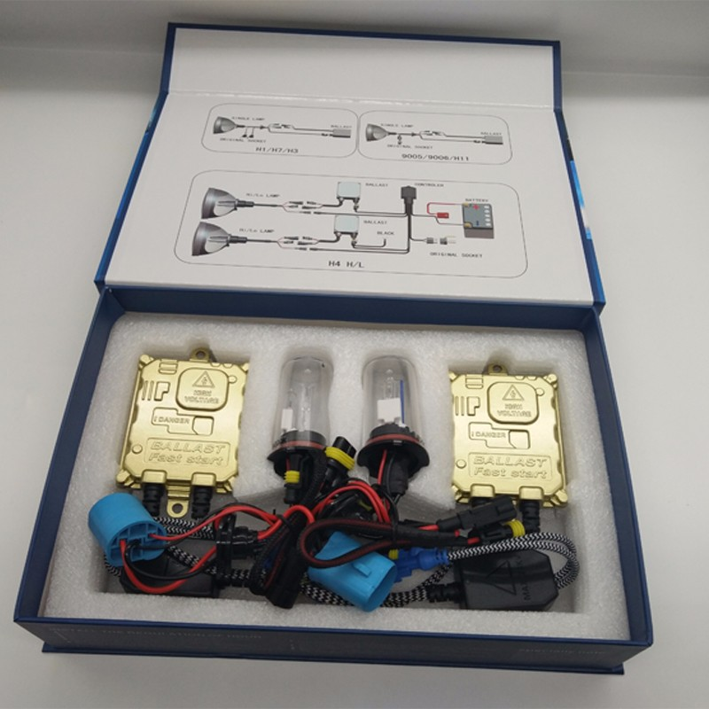 24V 55W HID Xenon Kit H1 H3 H4 H7 H11 Xenon Lamp With 3000K 5000K 6000K 8000K For Truck And Bus