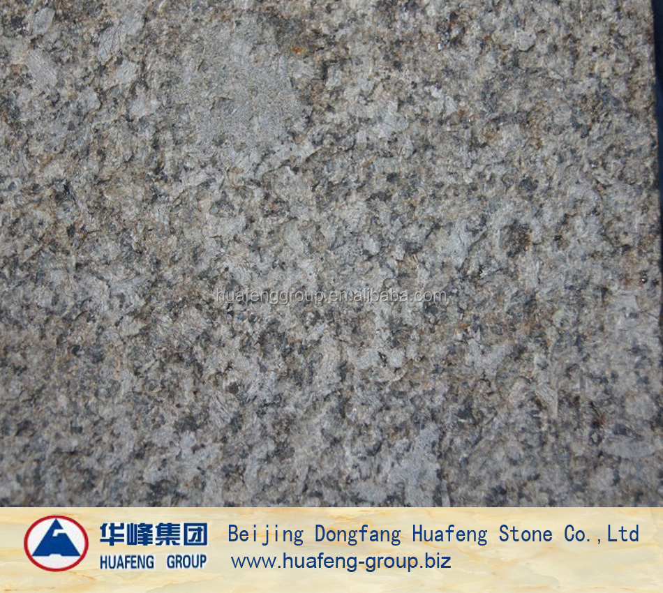Natural granite stone Flamed tropic brown tiles for floor cladding