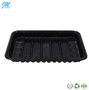 Wholesale disposable plastic PP blister frozen food tray/meat tray/fruit tray