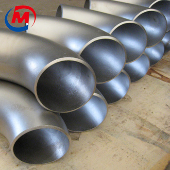 Butt weld pipe fitting stainless steel 45 degree street elbow