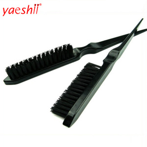 YAESHII Teasing Back Hair Brushes Plastic Slim Line Comb Hairbrush Extension Hairdressing Styling Tools