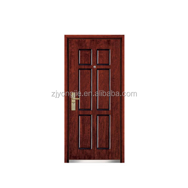 China wholesale Security Doors steel wooden armored door