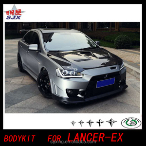 Car Big Bodykit for MITSUBISHI LANCER EX clone (4 PCS) bodykit spoiler for Lancer