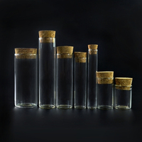 0.5 1 2 3 4 5 7 9 10 15 20 25 30 35 40 50 60ml small vials glass bottle with cork top wholesales