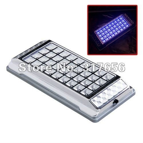 Free shipping,Universal Blue Car Auto Interior Ceil Roof Light Dome Bulb 36 LED 12V