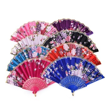 chinese Promotional plastic hand fan