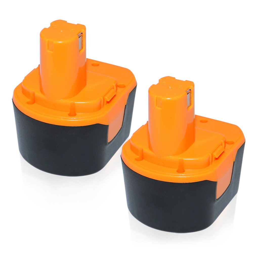 efluky 2Pack 3.0Ah 12V Ni-Cd Rechargeable Replacement Battery for Ryobi 1400652 1400652B 1400670 B-1230H B-1222H B-1220F2 B-1203F2