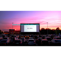 big outdoor movies cinema inflatable movie screen , inflatable projection screen
