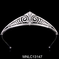 New design fashion wholesale tiara wedding jewelry