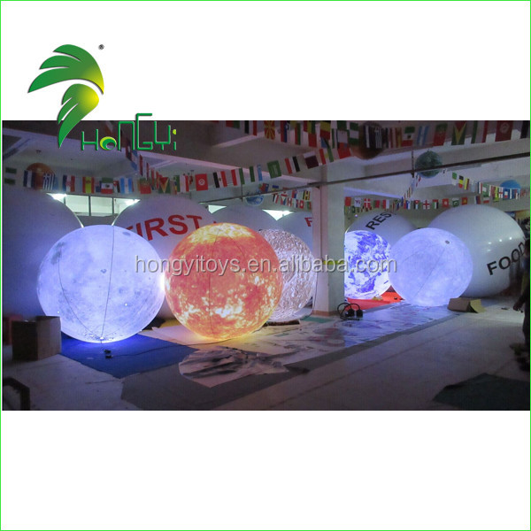 inflatable led lighting planet balloon (1)