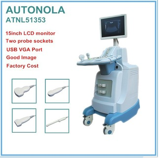 Ultrasonic machine price digital trolley ultrasound scanner physical therapy equipment(ATNL/51353)