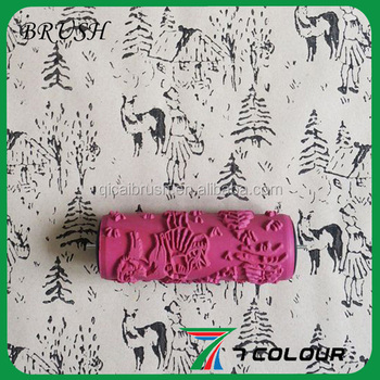 Decorative Paint Brush Roller Brushes,west Pattern Paint Roller