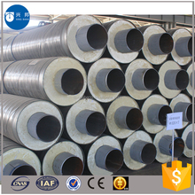 API5L carbon steel spiral pipe 20inch with pur foam filled for Sri Lanka hot water pipeline system