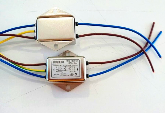 Wire Connection Single Phase Ac Power Line Noise Filter - Buy Noise ...
