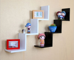 Hot Sale Wall Shelf French Style Funiture Eco-Friendly Wooden Floating Wall Shelf