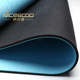 Double Color Rubber Backing Blue PU Yoga Mat Sleeping Workout Pad