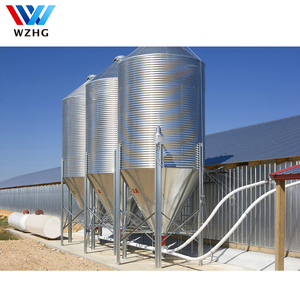 Make And Install Stainless Steel Fodder Silo For Agricultural Feed