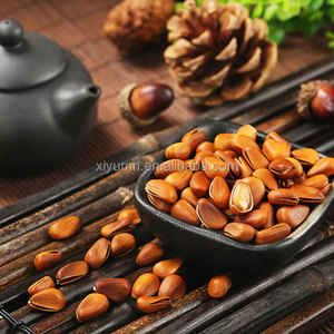 Dried organic jumbo size whole in shell Chinese pine nuts/ kernels