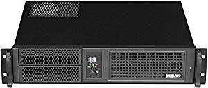 "PLINKUSA RACKBUY 2U(2x5.25""+2x3.5"" HD)Rackmount Chassis(14.96"""" Deep)(Micro-ATX/Mini ITX)(NO Power Supply,No System and Case Only)IPC-2022M"