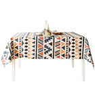Creative tablecloth fabric cotton bohemian Bohemian Southeast Asia B&B wind rectangular coffee table cloth