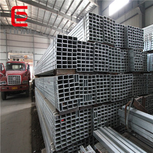 astm steel ! 50mm*50mm gi square steel tube / forward steel 30x30 ms gi square pipe tube price list