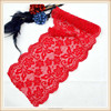 2018 red indian flower lace trim dresss lace trimming DTM color nylon lace