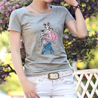 New arrival custom t-shirt printing t-shirts full printing vintage t-shirt printing